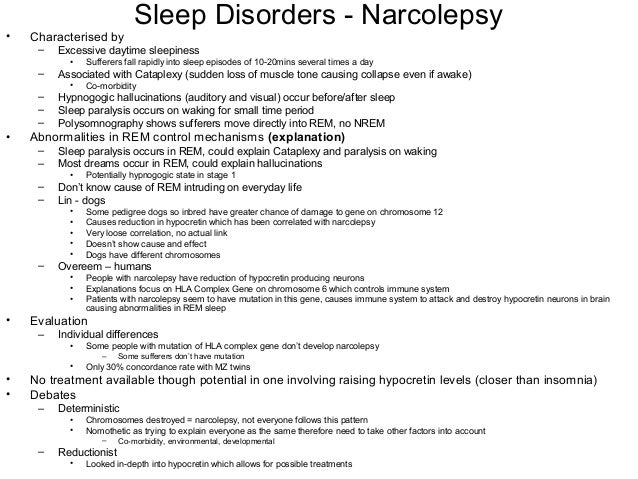 narcolepsy essay Dr scammell describes how a polysomnogram and a multiple sleep latency test (mslt) are used in diagnosing narcolepsy go to the related essay.