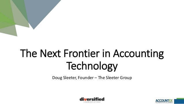 the next frontier in accounting technology