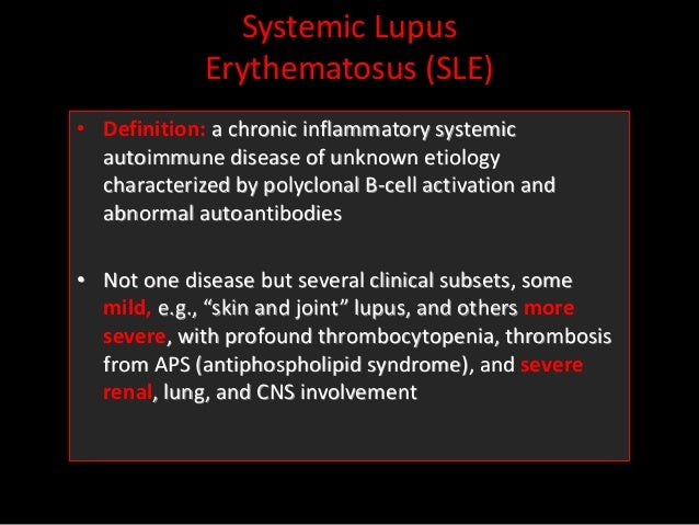 anatomy and physiology of systemic lupus erythematosus Pathophy test 3 study  most accurately describes the anatomy and physiology of the bone marrow  early symptom of systemic lupus erythematosus (sle) is .