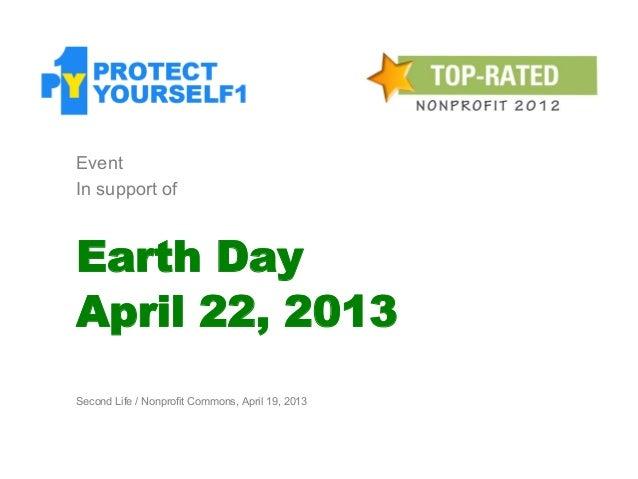 PY1 Earth Day on NPC