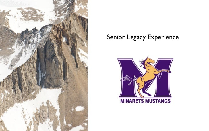Senior Legacy Experience 2011