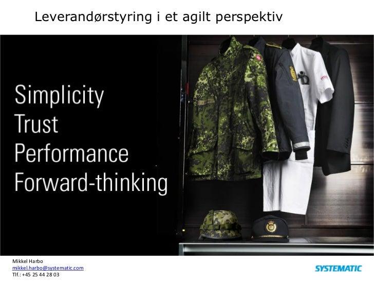 K03 i praksis - sådan skaber du et succesfuldt agilt projekt, Mikkel Harbo, Integration Services