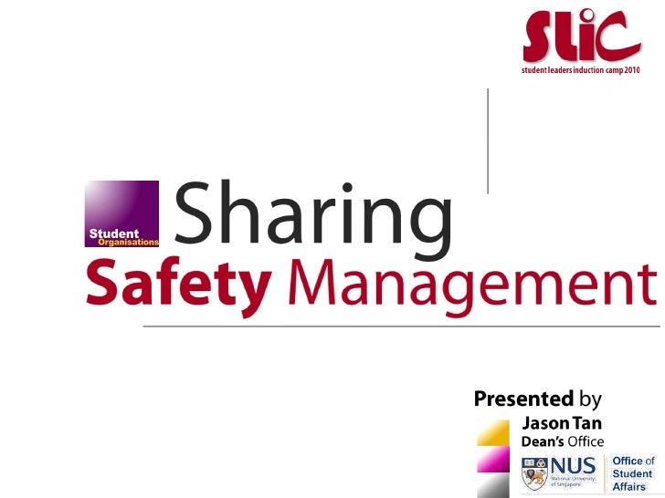 (SLiC2010)_SafetyManagement