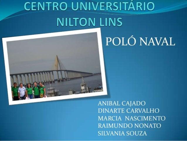 Slide - Poló Naval de Manaus -ERIN
