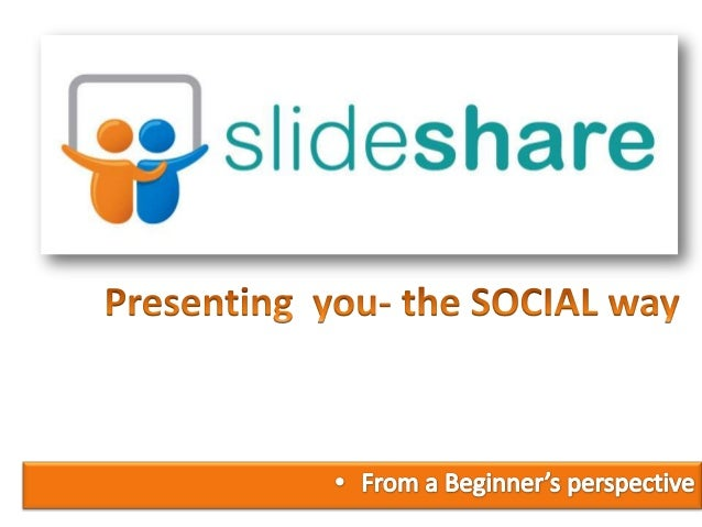 •Community for showing presentation