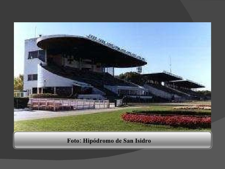 Foto: Hipódromo de San Isidro