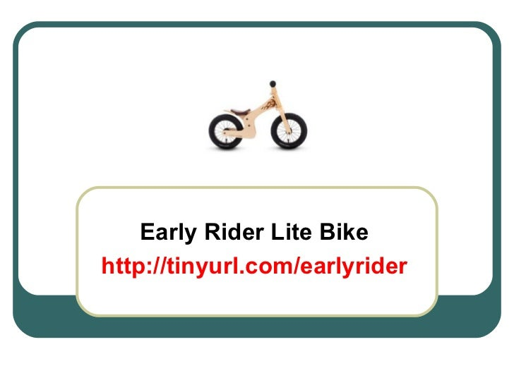 Early Rider Lite Bike