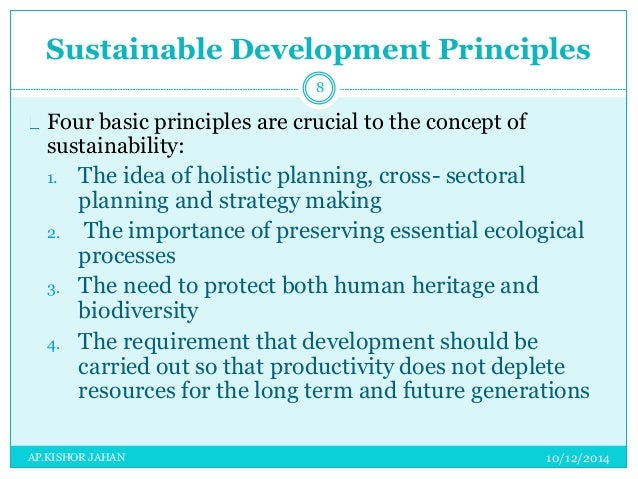 concepts of sustainable tourism and sustainable development tourism essay Sustainable development, and the interest of the tourism industry, to reduce  tourism's  the concepts of ecological integrity or social heritage.