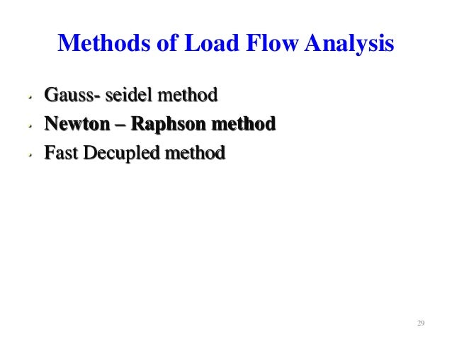 Load Flow Software | Load Flow Analysis | Power Flow ...