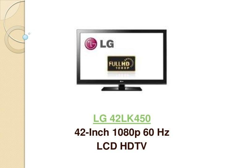 LG 42LK450 42-Inch LCD HDTV