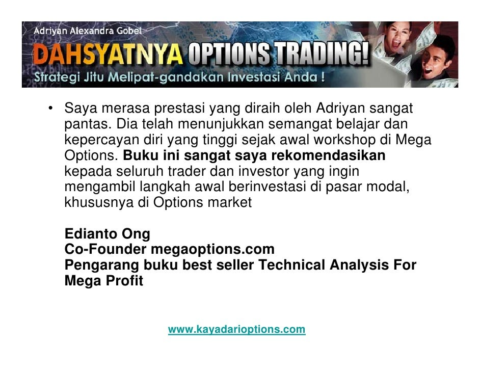 Belajar trading option amerika