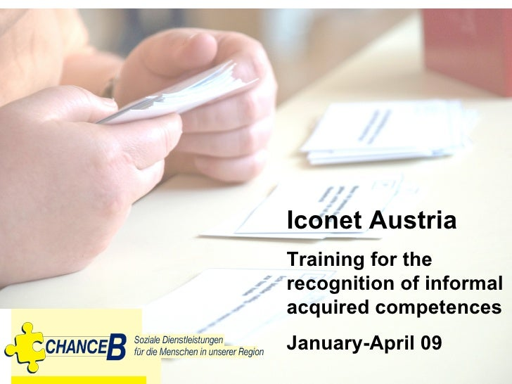 Recognition of informal learning