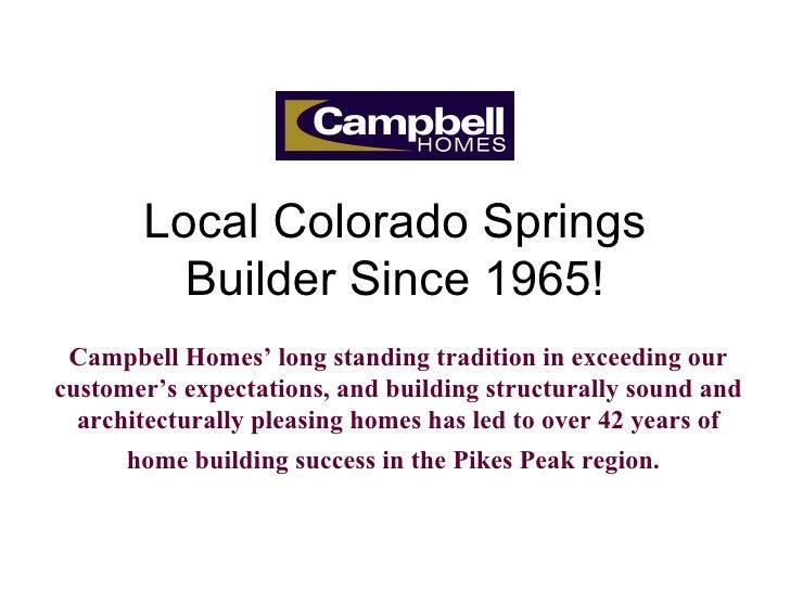 Campbell HomesSlide Show Of Neighborhoods