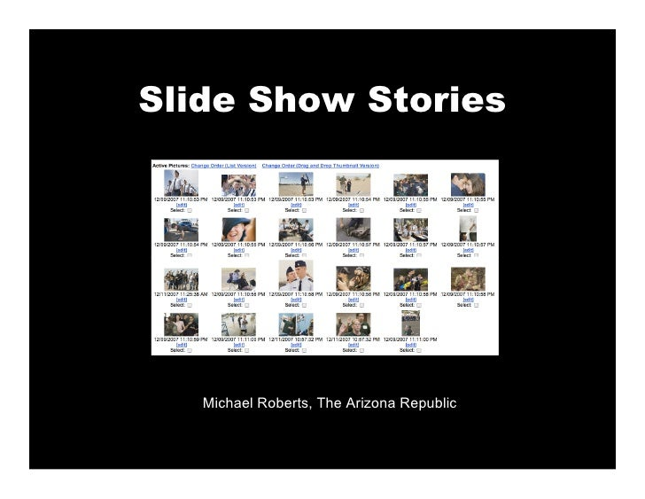 Slide Show Stories