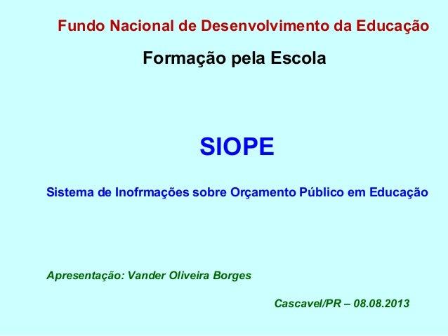 Encontro Regional Oeste - Programa Formação Pela Escola - 07