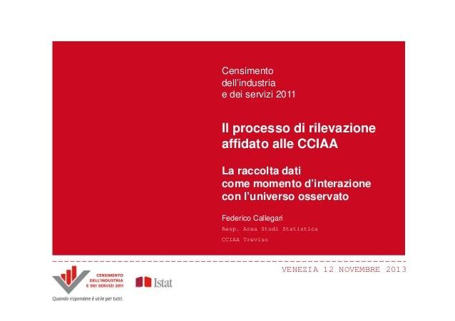 Censimento Censimento dell'industria dell'industria e dei servizi 2011 e dei servizi 2011  Il processo di innovazioni Prin...