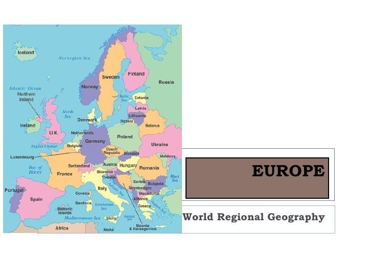 EUROPEWorld Regional Geography