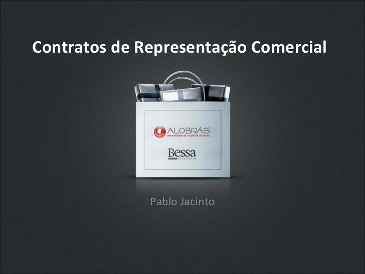 Palestra - Contratos de Representação Comercial