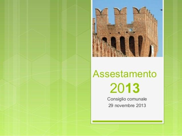 Assestamento 2013