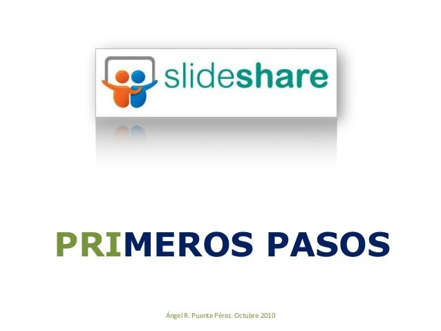 Primeros pasos en SlideShare