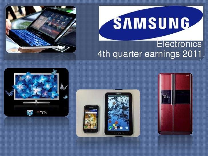 vrin analysis of samsung elecronics india Samsung electronics team 3: matthew kollinger  samsung swot analysis 2013 strengths  growing india's smartphone market.