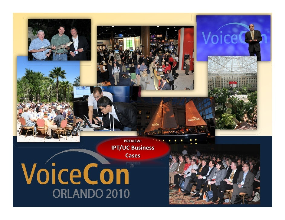 VoiceCon Slidecast Making the Business Case