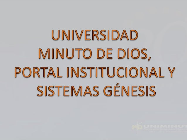 El Sistema Universitario UNIMINUTO inspirado en el Evangelio, la espiritualidad EUDISTA y la Obra Minuto de Dios, agrupa I...