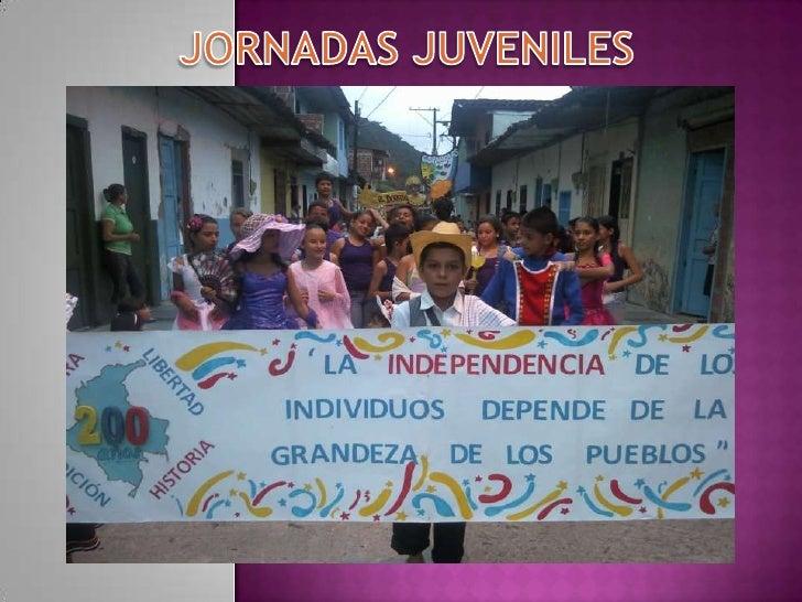 JORNADAS JUVENILES<br />