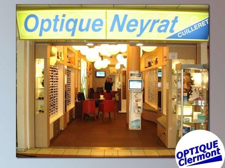 Optique Neyrat - Clermont