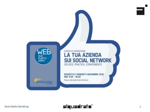 Webduepuntozero: Social Media Strategy (by Alquadrato)