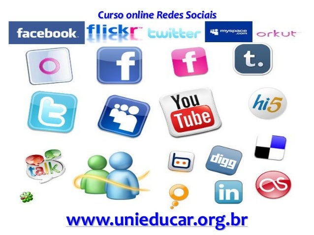 Curso online Redes Sociais www.unieducar.org.br