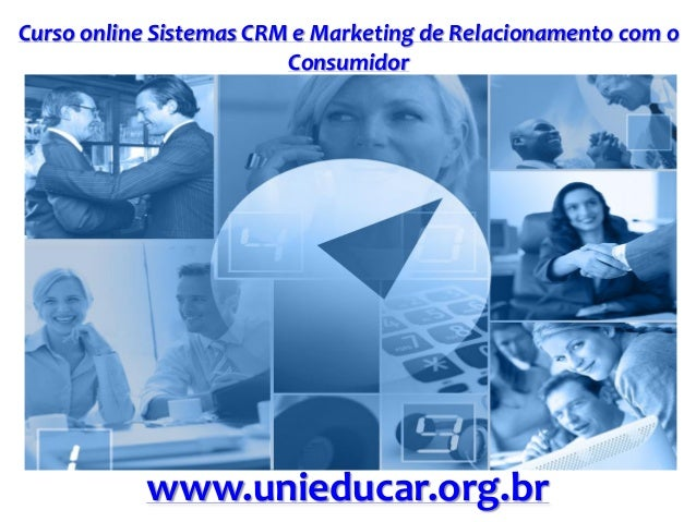 Slide curso sistemas crm e marketing de relacionamento com o consumidor