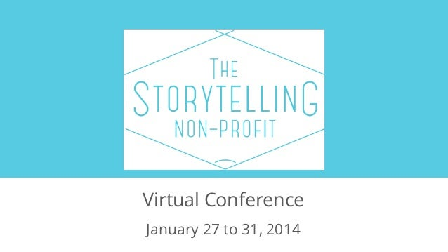 Virtual Conference January 27 to 31, 2014