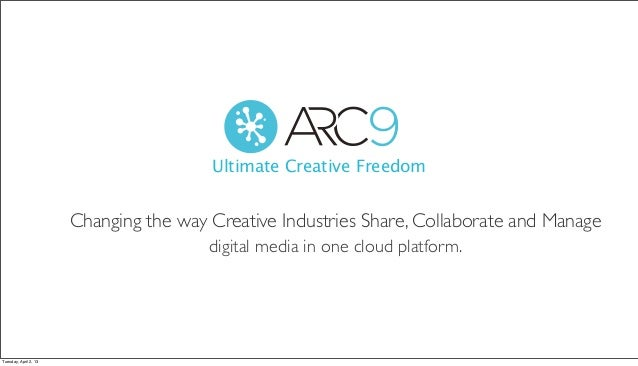 Changing the way Creative Industries Share, Collaborate and ManageUltimate Creative Freedomdigital media in one cloud plat...