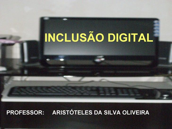 Slide De InclusãO Digital..