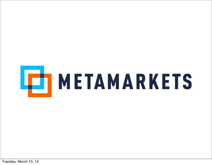 Introduction to Metamarkets