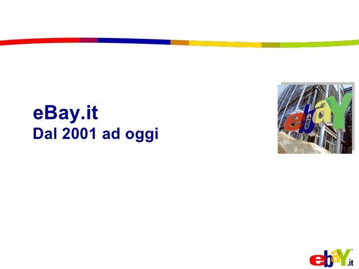eBay.it Dal 2001 ad oggi