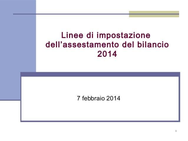 Finanziaria 2014 Provincia di Trento