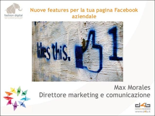 Come creare la migliore pagina Facebook per la tua azienda - Fashion Digital Workshop