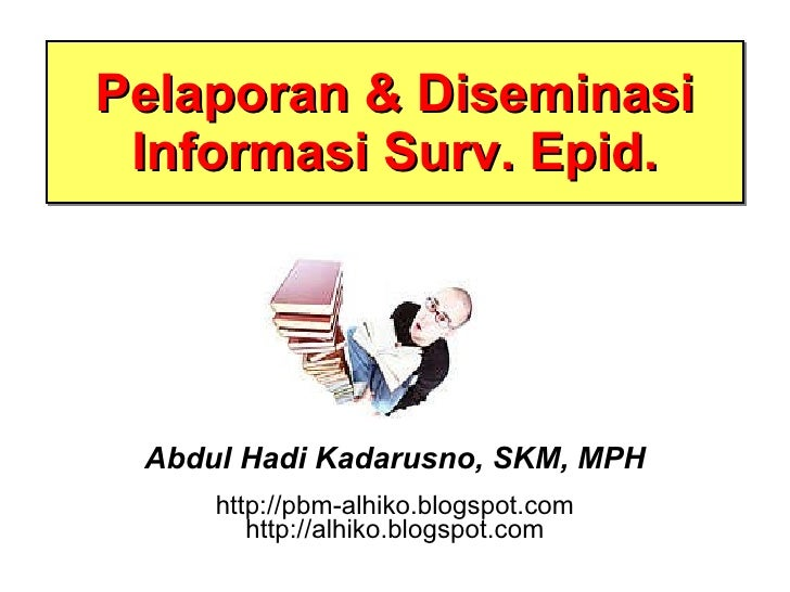 Slide iii   pelaporn n diseminasi info surv epid- versi ringkas u scribd