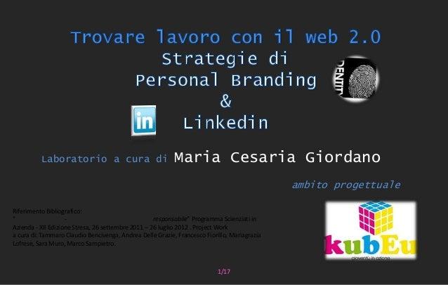 Laboratorio a cura di                            Maria Cesaria Giordano                                                   ...