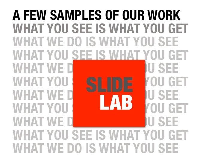 Slidelab Samples