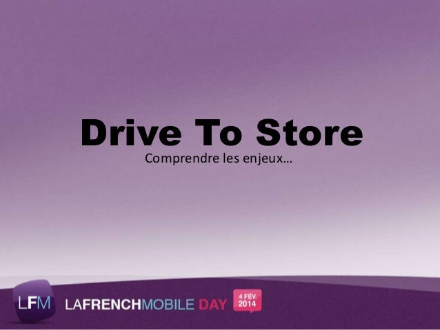 Drive-to-Store:  Screen-Phone convergence By Think&Go