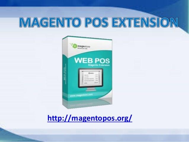 Magento POS extension