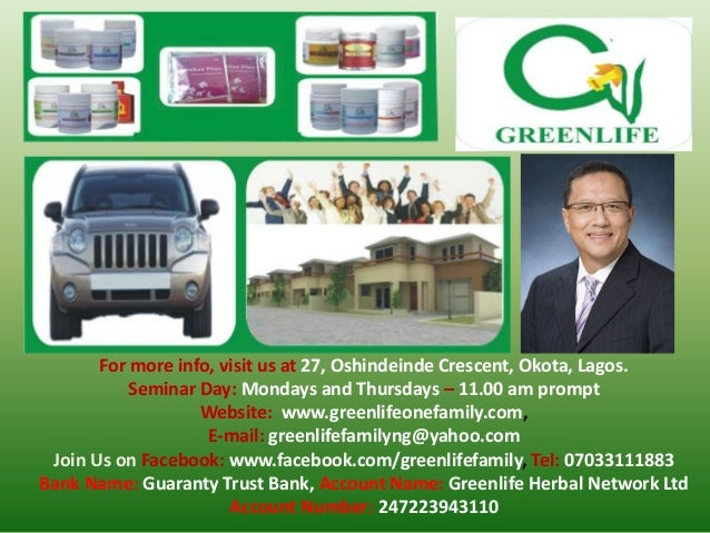 For more info, visit us at 27, Oshindeinde Crescent, Okota, Lagos. Seminar Day: Mondays and Thursdays – 11.00 am prompt We...