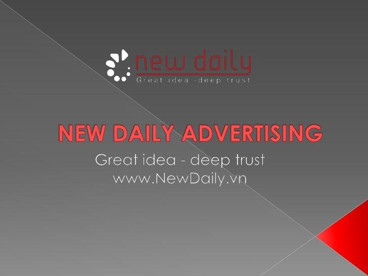 NewDaily.vn - Tổ chức sự kiện và Quảng cáo
