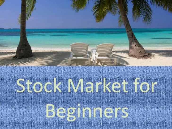Stock Market for Beginners<br />
