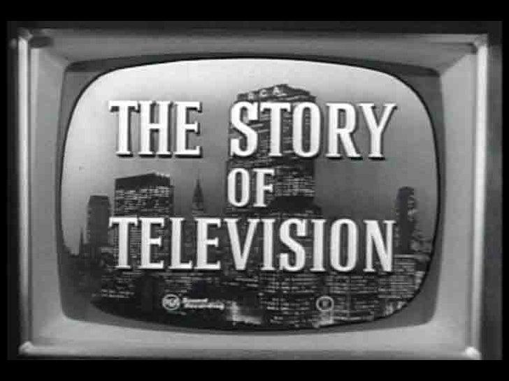 Slide on television