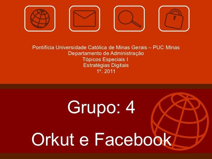 Slide orkut e facebook 4