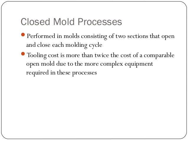 Vacuum Molding Process Mold Processesperformed